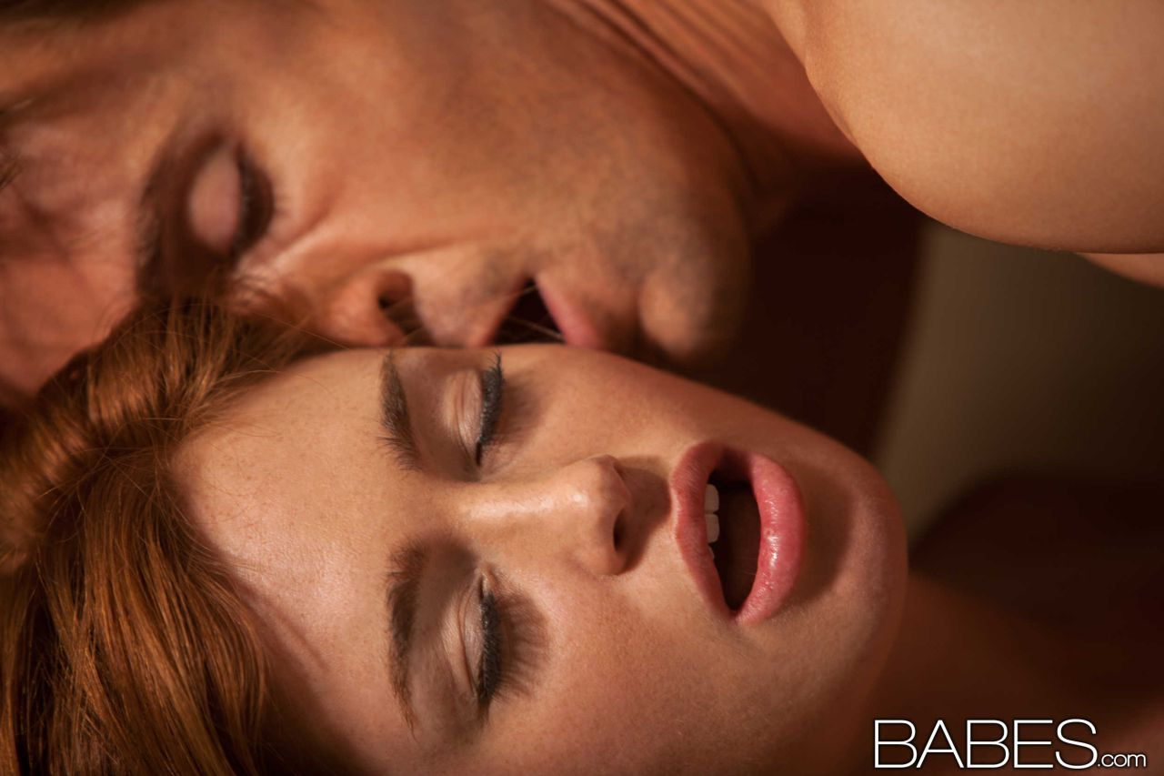 Ginger babe jodi taylor drooling on bbc 7